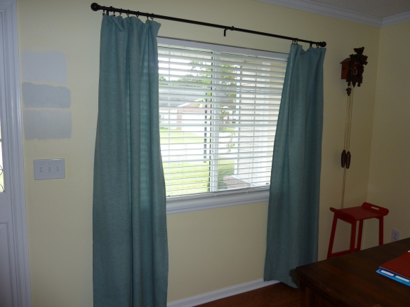 Old Dining Room Curtains