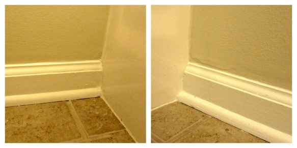 baseboard after collage