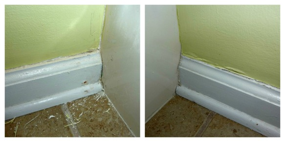 baseboard before collage