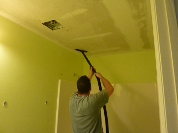 Cleaning the Ceiling