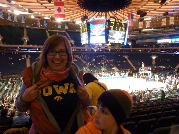 Hawkeyes at Madison Square Garden