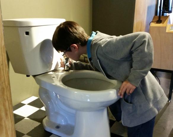 toilet fountain