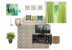guest room mood board
