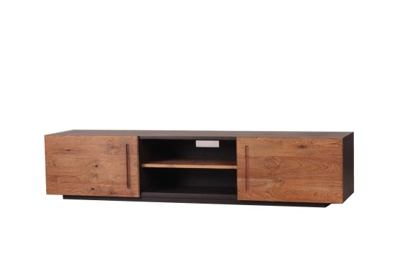 Mountain Teak TV Stand From Wayfair