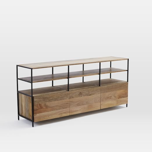 Rustic Modular TV Console From West Elm